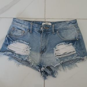 Forever 21 cutoff shorts Size 26